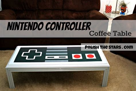 nintendo controller coffee table diy the boyfriend