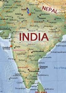 India Nepal Map by Welcome To Nanda Travel Nanda Travel