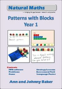 pattern problem solving year 1 10 best ann baker natural maths images on pinterest
