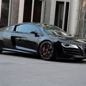 audi r8 v10 hyper black edition droppers