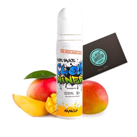 mango e liquid 50 ml cloud niners mango e liquid in a