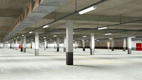 underground parking garage   cgtrader
