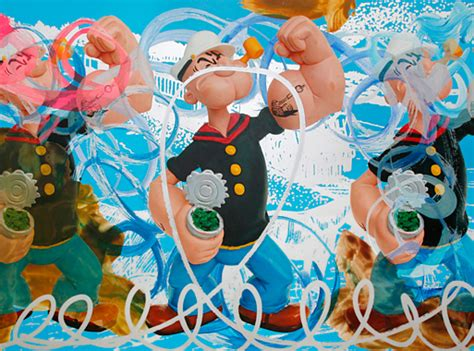 koons basic art series jeff koons artwork triple popeye