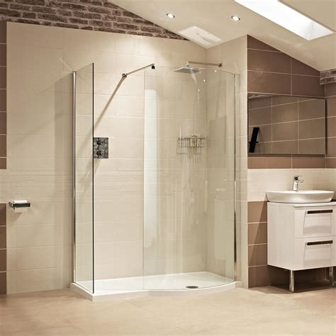 Curved Shower Screen For Corner Bath shower cubicles style modern office cubicles corner