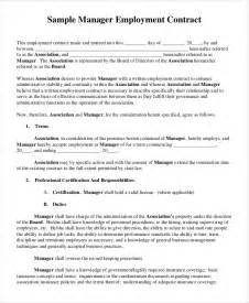 template employment contract doc 500706 employment contract template fixed