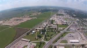 At T Garden City Ks by Garden City Ks East Side Aerial View