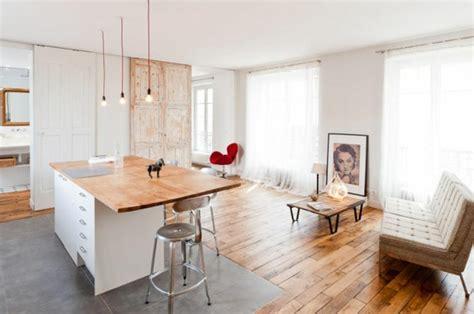 Esszimmer Le Holzbalken by Le Loft Parisien Inspiration Et Style Unique Archzine Fr