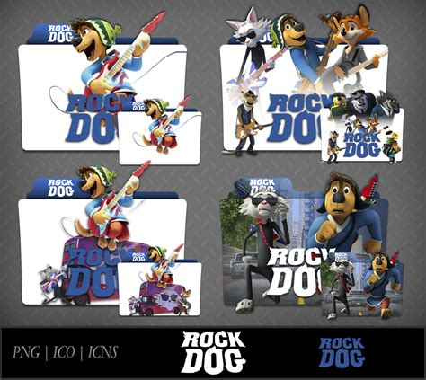 movies showing now rock dog 2016 rock dog 2016 movie folder icon pack by dhrisj on