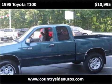manual repair autos 1998 toyota t100 security system 1998 toyota t100 problems online manuals and repair information