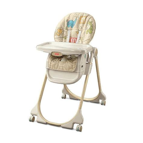 Best High Chair Review by Fisher Price Home Away Animal Krackers 3 In 1 High Chair
