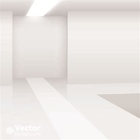 black and white graphic wallpaper interior set of empty white interior backgrounds design vector 02