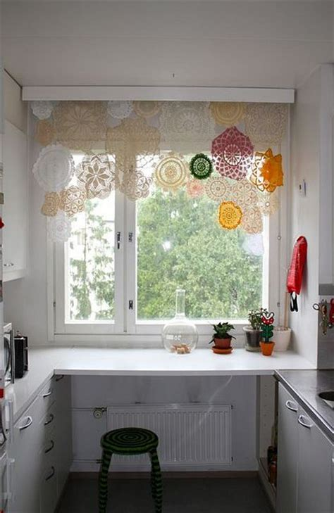 picture of vintage lace home decor ideas