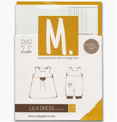 jumpsuit paper pattern the lila dress and jumpsuit by compagnie m ft lily