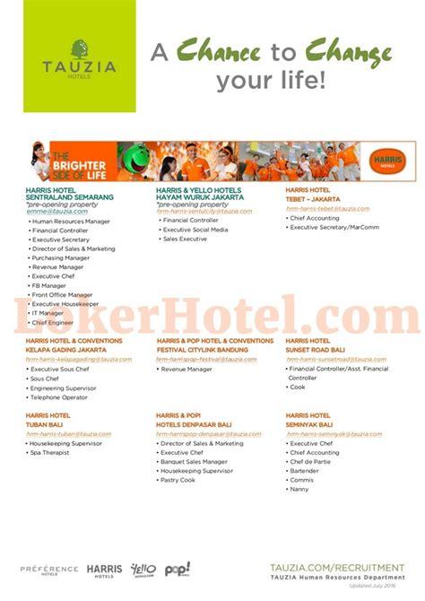 lowongan kerja accounting hotel jakarta   lowongan kerja