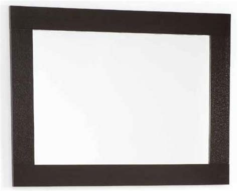 Bathroom Mirror Sizes Wenge Bathroom Mirror Size 800x600mm Davinci Q 7080awe Truerooms