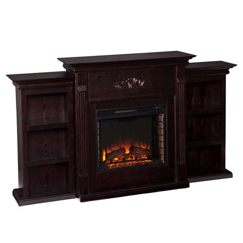 70 25 tennyson classic espresso electric fireplace w