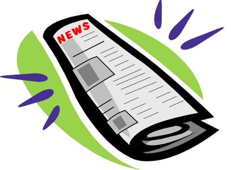 newspaper layout clipart free newspaper clip art pictures clipartix