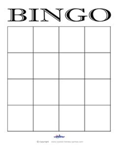 blank bingo card template 5x5 tricks and treats hop