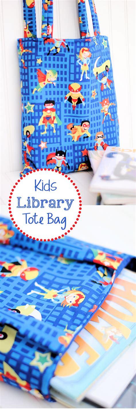 tutorial c library kids library bag tutorial library bag kids library and