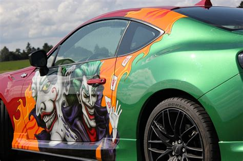 Autoteile Mit Airbrush Lackieren by Toyota Gt86 Comic Custompaint Airbrush Lackierung