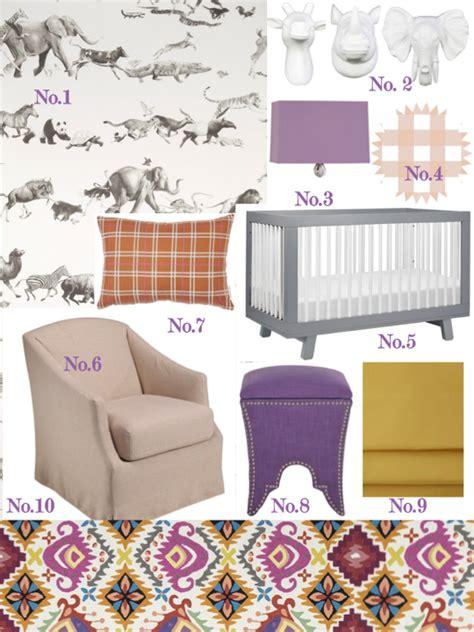 girly nursery wallpaper style plan global girly nursery effortless style blog