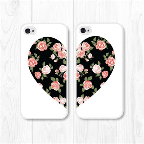 Casing Hp Black Froral Flower Print Iphone 5 5s Iphone 5c besties black coral iphone 5 iphone 5s by fieldtrip