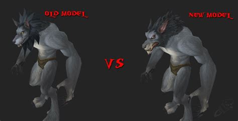are or newer worgen models better