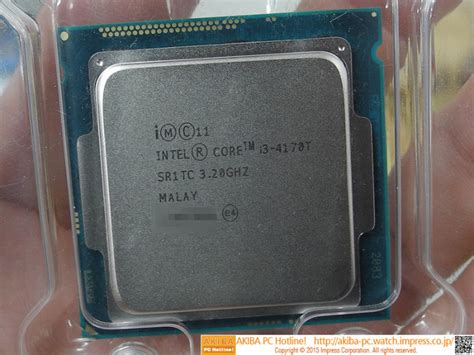 Paket Komputer I3 4160 Haswell intel rolls out energy efficient i3 4170t dual processor techpowerup