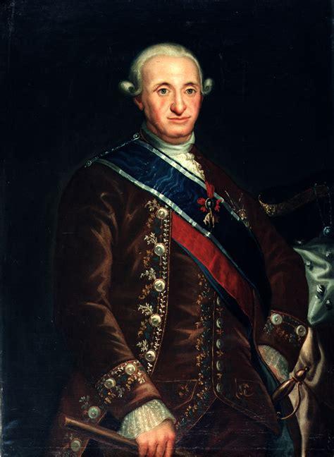 biografia de carlos i i carlos iv 1748 1819 rey de espa 241 a la fragata nuestra