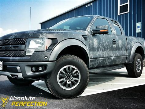 Home Design Trade Shows 2015 by Ford Raptor Matte Camo Wrap Ap Vehicle Wrapping