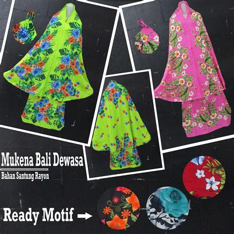 Mukena Bali Motif Batik Dewasa grosir mukena bali dewasa murah 62ribuan