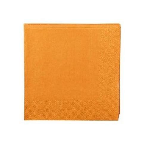 Decoration Serviette by Serviette En Papier Orange 1001 D 233 Co Table