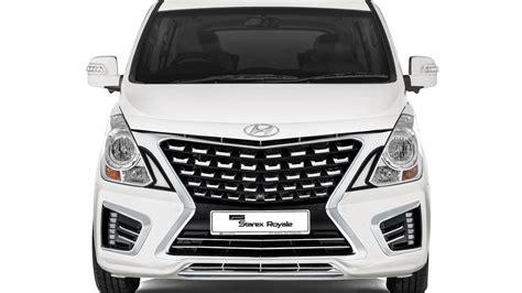 new hyundai h1 201 hyundai grand starex royale mpv facelift 2017 interior