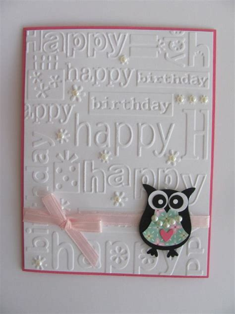 Embossed Birthday Card Ideas Kids Birthday Cards Pinterest Te Doğum G 252 N 252 Kartları