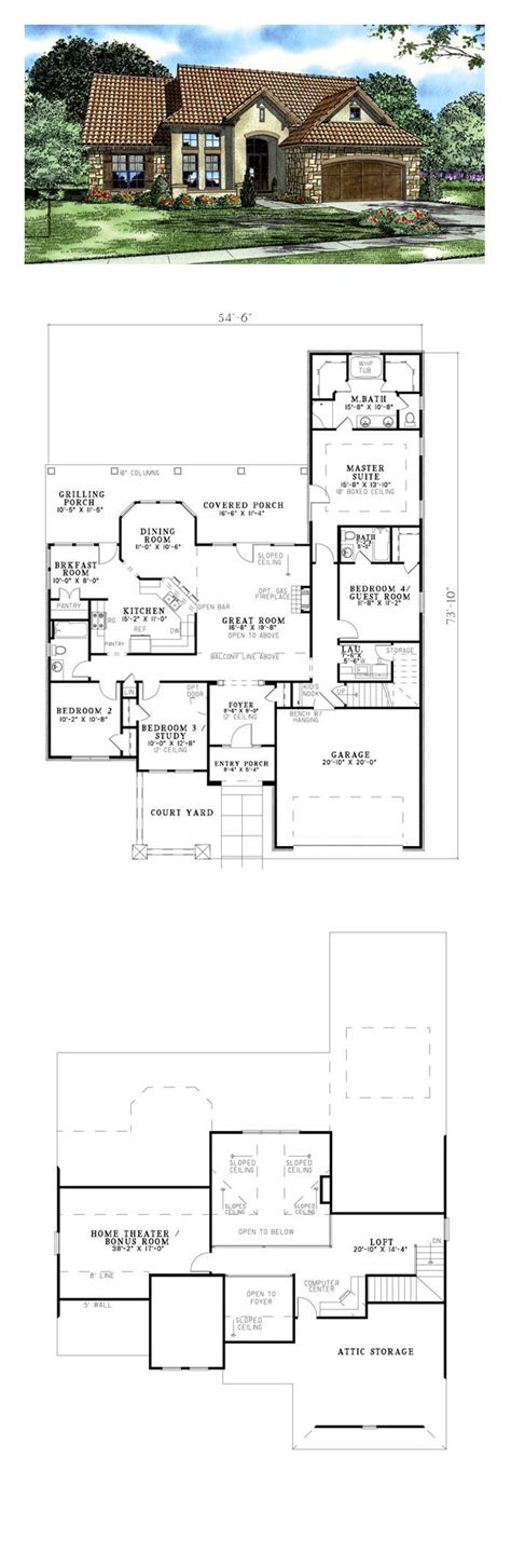luxury tuscan house plans tuscan house pinterest plans and floor luxury plan