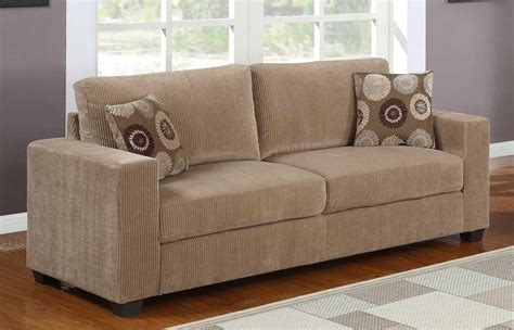 brown corduroy sectional homelegance paramus sofa set brown corduroy u9738 3 at