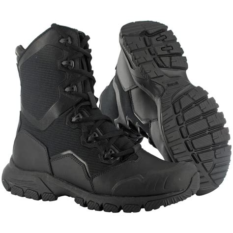 s magnum 174 mach 1 8 0 side zip tactical boots black