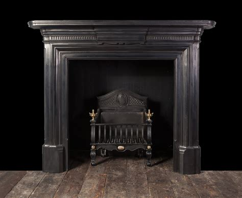antique cast iron fireplace ci170 19th century