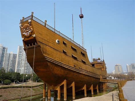 build a boat for treasure wiki file nanjing treasure boat p1070979 jpg wikimedia commons