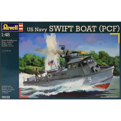 swift boat model kit revell 1 48 05122 us navy swift boat pcf model ship kit