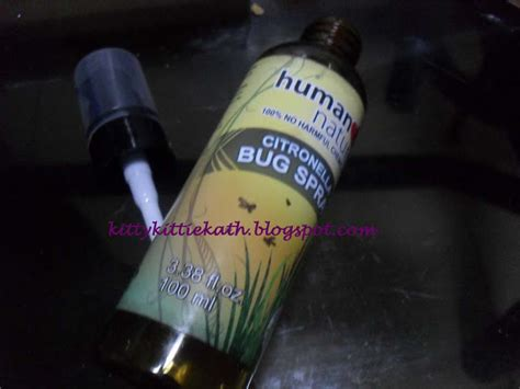 product review human nature citronella bug spray shoo those pesky mosquitoes the