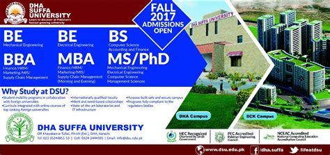 Mba Ms Computer Science by Admission Open In Dha Suffa Karachi 28 May 2017