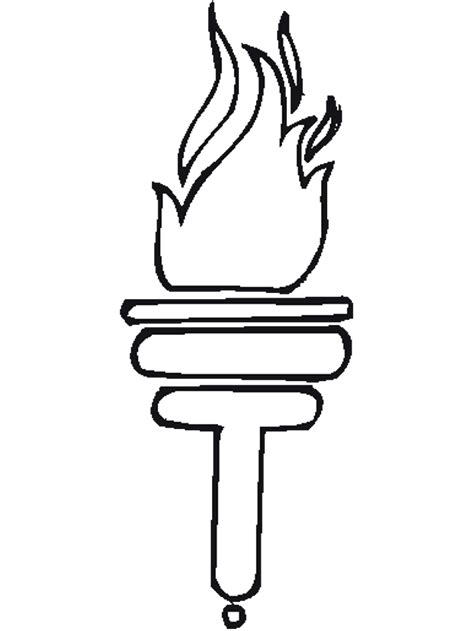 olympic torch coloring pages gt gt disney coloring pages