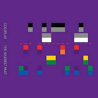 coldplay hardest part coldplay the hardest part video ufficiale testo e