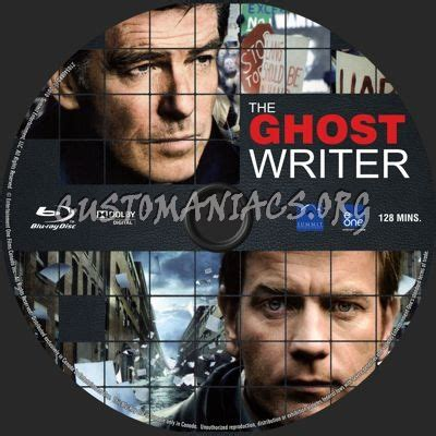 The Ghost Writer Raydvd Combo the ghost writer label dvd covers labels by customaniacs id 190710 free
