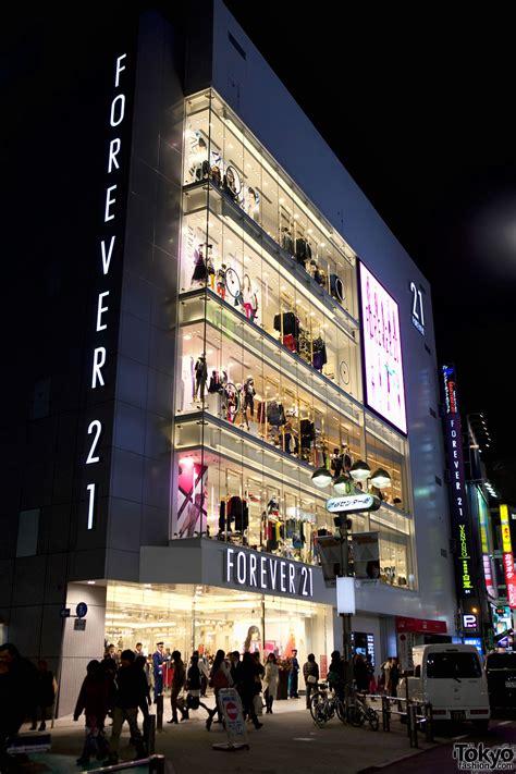 Forever In forever 21 shibuya grand opening