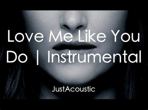 justin bieber love me like you do acoustic what do you mean justin bieber acoustic instrumental