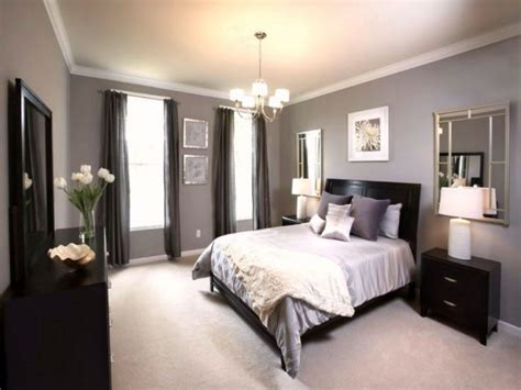 Grey Bedroom With Black Furniture Furniture Beautiful Wall Colors For Bedrooms With White
