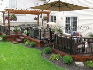 Backyard Patio Design Ideas Ideas For Deck Designs 7 Backyard Deck Idea Patio Design Newsonair Org