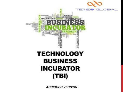 Columbia Mba Incubator by Technology Incubators
